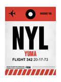 NYL Yuma Luggage Tag I Poster by  NaxArt
