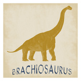 Brachiosaurus Dino Art