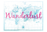 Wanderlust World Print