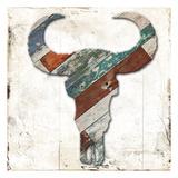 Wooden Bull Head Prints