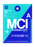 MCI Kansas City Luggage tag I Art by  NaxArt