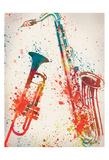 Jazz 2 Umělecké plakáty