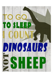 To Go To Sleep Plakat