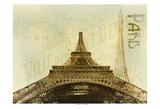 Below The Eiffel Tower Prints