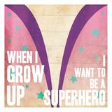 Superhero Girl Power Poster
