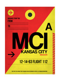MCI Kansas City Luggage tag I Posters by  NaxArt