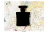 Perfume Silhouette Prints