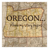 Story Oregon Prints