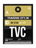 TVC Traverse City Luggage Tag II Prints by  NaxArt