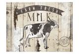 Farm Fresh Milk Horizontal Posters