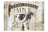 Farm Fresh Milk Horizontal Posters
