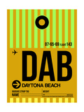 DAB Daytona Beach Luggage Tag I Posters by  NaxArt