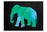 The Turquoise Elephant Posters