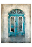 Teal Doorway Posters
