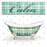 Relaxed Plaid Bath Mate Prints