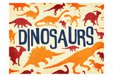 Dinosaurs Three Posters