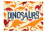 Dinosaurs Three Posters