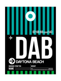 DAB Daytona Beach Luggage Tag II Prints by  NaxArt