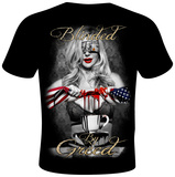 Daveed Benito- Blinded by Greed T-Shirt by Daveed Benito