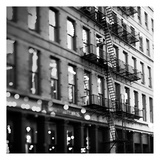 Soho Buildings BW Plakat