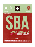 SBA Santa Barbara Luggage Tag II Prints by  NaxArt