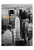 Gold NY Fifth Ave Prints
