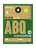 ABQ Albuquerque Luggage Tag I Posters by  NaxArt