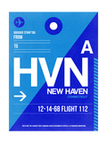 HVN New Haven Luggage Tag II Art by  NaxArt
