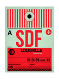 SDF Louisville Luggage Tag II Posters by  NaxArt