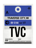 TVC Traverse City Luggage Tag I Posters by  NaxArt