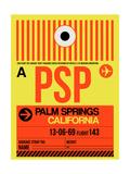NaxArt - PSP Palm Springs Luggage Tag I - Poster