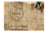 Postcard Rome Posters