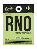RNO Reno Luggage Tag I Poster by  NaxArt