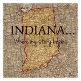 Story Indiana Poster