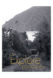 Explore The Possibilities BW 4 Posters