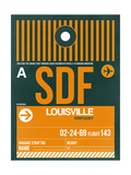 SDF Louisville Luggage Tag I Prints by  NaxArt