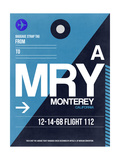 MRY Monterey Luggage Tag II Art by  NaxArt