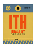 ITH Ithaca Luggage Tag I Poster by  NaxArt