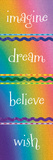 Kid Dreams Rainbow Posters