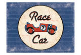 Race Car Blues Art