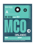 MCO Orlando Luggage Tag II Posters by  NaxArt