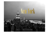 Golden New York Prints
