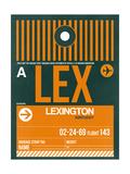 LEX Lexington Luggage Tag II Print by  NaxArt