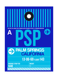 PSP Palm Springs Luggage Tag II Prints by  NaxArt