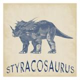 Styracosaurus Dino Plakater