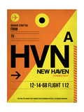HVN New Haven Luggage Tag I Posters by  NaxArt