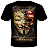 Daveed Benito- Divided We Stand T-Shirt by Daveed Benito