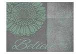 Floral Believe 6 Posters