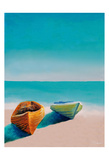 Beach Boats Prints