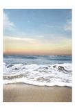 Sunrising Wave Curl Plakat